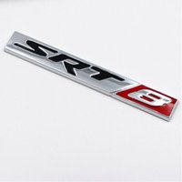 Sporty SRT8 Side Fender Badge Sticker Sticker Adesivo posteriore per Jeep Grand Cherokee per Dodge Chrysler Styling Accessori Esterni dell'auto