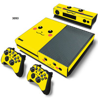 Wholesale Xbox Vinyl Decals - Vinyl Decal Skin Stickers Cover for Xbox One Console, Camera and Controllers full set.