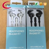 Wholesale galaxy s2 cell online – Original In ear Sport Headset earphones For EG920 Galaxy S2 With Mic Volume Control Headphone Universel For SAMSUNG NOTE7 S7 S6 Iphone7