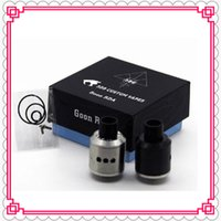 Vaporizador 528 CUSTOM Vapes Goon RDA Atomizer Clone 24MM Dripper Tank DIY GOON 528 rda Fit Mechanical Box Mods DHL grátis