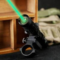 Wholesale Rifle Laser Designator - Hunting 532nM Green Laser Sight Adjustable Flashlight Illuminator Designator w 20mm Weaver Mount and Switch designer sweat suits for women
