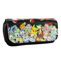 Hot New Purse Penna Custodie Pouch Lovely Cartoon Anime Pocket Monster Cartoleria Portamonete Borsa in pelle Borsa cosmetica