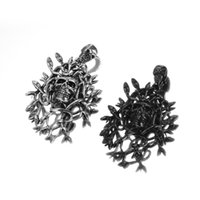 Wholesale Skull Head Sweater - Men's Stainless Steel 3D Medusa Skull Head Sweater Pendant Necklace with a Chain Avivahc 67