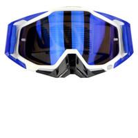 Wholesale Helmet Mx - 2017 New Arrived Lunettes Motocross Glasses Moto Men Women Motorcycle Goggles Helmet Glasses Off-Road Dirt Bike ATV MX BMX DH MTB Eyewear