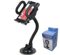 ipad saugständer großhandel-Universal-360-Grad-drehbare Saugnapf-Schwenker-Berg-Auto-Windschutzscheiben-Halter-Stand-Wiege für Handy / iPhone / iPad / PDA / MP3 / MP4 DHL 50pcs