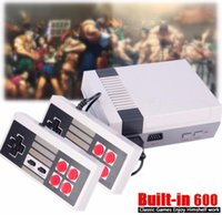 Wholesale Hot Wi - Xmas Hot Gift 600 in 1 HDMI Output Retro Classic handheld game player Family TV video game console Childhood Built-in 600 Games mini Console