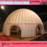 Wholesale x8x5mH oxford cloth giant inflatable dome tent large inflatable advertising tent Inflatable canopy for outdoor