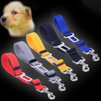 Wholesale Leash Accessories - Dog Leash Safety Belt Pet Supplies Adjustable Lead Dogs Accessories Pet Car Seat Belt Safety Belts Multi Colors Available Wholesale