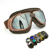 Wholesale Goggle Motorcycle Silver Lens - Silver Lens Bike bicycle Goggles , off road motorcycle helmet Goggles