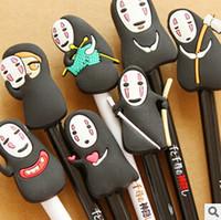 Wholesale Promotional Fountain Pens - Wholesale-New Arrival Japan Hayao Miyazaki Cartoon Gel Ink Pen Promotional Gift Stationery Novelty Needle Fountain Pen