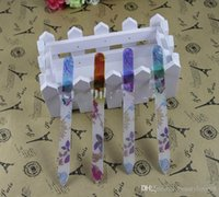 """Wholesale flower file - 20PCS PRINTING FLOWER GLASS NAIL FILES CRYSTAL NAIL BUFFER NAIL CARE 5.5"""" 14CM New"""