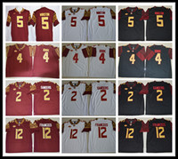 Wholesale Cooking Oranges - 2017 Men and Youth Florida State Seminoles FSU College football jerseys Deondre Francois Deion Sanders Dalvin Cook Jameis Winston Jerseys