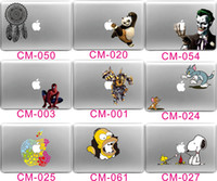 Wholesale China Wholesale Macbook Pros - New Arrival Cartoon MacBook Decals Laptop Stickers for Apple Macbook Pro Air Universal Many Patterns to choose