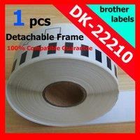 Wholesale Dk Labels - Wholesale-35x Rolls Rushed Promotion for Brother Dk-22210 Dk22210 Dk-2210 Dk2210 Ql-560 Ql-580n Ql29mm-30.5m Labels