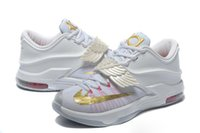 Wholesale Pearl Running - High Quality KD 7 VII Aunt Pearl Basketball Sports Shoes
