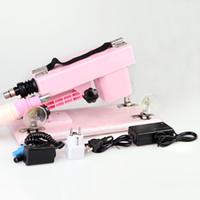 ingrosso pistola femminile masturbatoria-Le donne usano la macchina della masturbazione della mitragliatrice del cannone del fucile del giocattolo del sesso per l'innamorato femminile della mitragliatrice