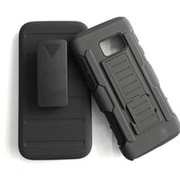 Wholesale Future Skin - Future Armor Rugged Defender Holster Hybrid Case For Samsung Galaxy S7 Active Cover Skin Shell Shockproof