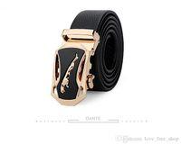 "Wholesale Dandy S - "" Dandy Dante Quality Goods "" Fashion Leopard Head Litchi Grain Belt Male Genuine Leather Automatic Buckle 2016 New Pattern"