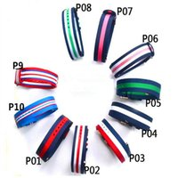 Wholesale Color Belt Strap For Men - Luxury Brand 20mm Nylon Watchband For DW Watch Multi Color Strap Men DW Watch Belt Watch Bands With Gold And Silver Steel Buckle