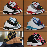 Wholesale Free Online Shipping - 2018 High Quality Air Retro 13 Men Women Basketball Shoes 13s XIII All Star Sneakers Online Sale Free Drop Shipping