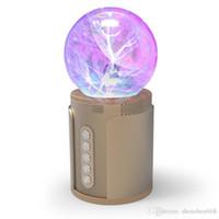 ionensprecher für großhandel-P2 magic ball nachtlicht touch drahtlose Bluetooth lautsprecher soundkarte bunte licht SP2 negative ionen induzierte aktuelle subwoofer karte 7-YX