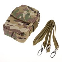 Wholesale Utility Canvas Bags - Phone Waist Pouch Camera Pocket Camouflage Military Tactical Bag Utility Waist Belt Pocket Nylon Waterproof Outdoor Sport Single Should