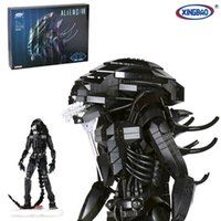 Wholesale Alien Series - XingBao 04001 The Alien Robot Set 2020pcs with Original Box for Reselling Lepin Blocks Genuine Creative Movie Series XB04001 Lepin Toys
