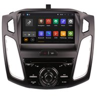 Wholesale Bluetooth Car Audio Ford - Android 7.1 Car DVD GPS Navigation for Ford Focus 2015 2016 with Radio Bluetooth USB WiFi Audio Stereo 4Core 2G RAM