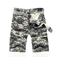 Wholesale Women Combat Pants - Free Knight Women Combat Tactical Capris Camouflage Pants Women Casual Low-waist Cargo Pants Size 28-38 for men Four seanson camoufalge pant