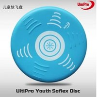 Wholesale Toy Flying Disc Boomerang - UltiPro Youth Soflex Disc Professional Ultimate Disc Outdoor Sport Flying UltiPro Ultimate Frisbee learning toy