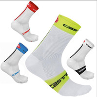 Wholesale Professional Bicycle Racing - High quality Professional brand sport socks Breathable Road Bicycle Socks Mountain Bike Socks Racing Cycling Socks