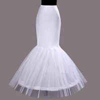 Wholesale Tailing Petticoats - Free Shipping New 2016 Good Shape 3 Lays Wedding Petticoat For Mermaid Trump Fish Tail Party Wedding Dresses