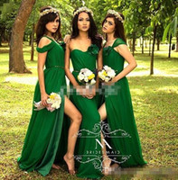 Emerald Green Chiffon Bridesmaid Dresses Price Comparison | Buy ...