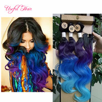 Wholesale blonde synthetic weave - Wholesale purple,brown synthetic weave body wave hair weaves 220gram synthetic braiding hair bundle with lace closure,sew in hair extensions