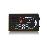 Wholesale Display For Car Alarm - 3 Inch Car HUD Head Up Display HUD X6 OBD2 OBDII Interface with Alarm System for Overspeed Warning