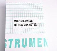 Wholesale Digital Light Lux - Wholesale-60pcs Light Meter 3 range LX-1010B Digital Meter Digital illuminance meter 0 - 50000 Lux photometer exposure remote control