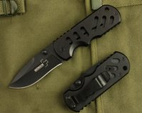 Vente en gros BOKER DA2 Mini Pocket Folding Knife 3Cr13Mov 53HRC Titanium Tactical Hunting Survival Knife Aluminium Handle Utility Clasp EDC Tool