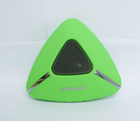 Wholesale Triangle Mini Speakers - 2017 HOT sale Factory Wholesale Triangle Shape Wireless Bluetooth Speakers Outdoor Travel Movement Portable Speakers Stereo MP3 Players