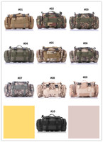 Tactical Sports Train Ciclismo Caminhada Camera Camuflagem Dual-Use Cintura Pack Bag