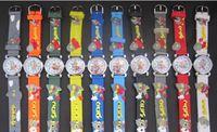 очень часы оптовых-3D мультфильм милые дети девочки мальчики дети студенты Ультраман Кварцевые наручные часы очень популярны