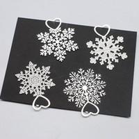Wholesale Cute Metal Bookmark - Cute Kawaii Metal Bookmark Snowflake Book Holder for Book Paper Creative Wedding Favor Birthday Party Gift ZA4330
