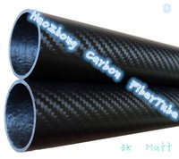 Wholesale Rc 46 - 1-4 PCS 50mmx46mmx1000mm 100% full carbon composite material  carbon Fiber tube pipes. Quadcopter Hexacopter. RC Plane  DIY .50*46