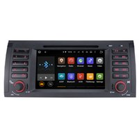 "Wholesale Dvd E39 - Joyous 7"" Autoradio Quad Core 1024*600 Android Car DVD Player GPS Navigation For BMW 5 Series E39 X5 E53 M5 Head Unit AudioStereo"
