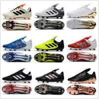 Wholesale Copa Football Boots - cheap 2017 mens adidas Copa 17.1 FG soccer shoes football boots lows men soccer cleats turf futsal Free shipping