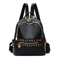 Wholesale trendy backpacks for women - Shoulder bag blackpack for women 2017 new Korean style fashion casual trendy campus student bag simple soft leather backpack