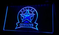 Wholesale dallas cowboys christmas for sale - Group buy LS048 g Dallas Cowboys Sport Bar Neon Light Signs