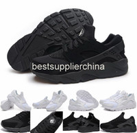 Wholesale Air Huarache Classical White Black Huarache Ultra Running Shoes Men And Women Huaraches Jogging Sneakers Outdoor Huraches Shoes Size