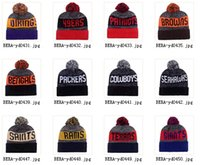 Wholesale Snow Hats - 2016 Brand Winter beanies Colorful Snow Caps Wool Knitted Beanie Hat With Fur Pom Poms For Women and Men Hip Hop Skullies Cap fashion caps