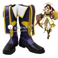 Costume Accessories blazblue cosplay - BLAZBLUE Tsubaki Yayoi cosplay cos shoes