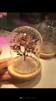 Wholesale Crystal Wish Tree - TOP!1 PC free shipping!Natural Healing Crystal Wishing tree Tree Decorative Crystal Tree for decoration